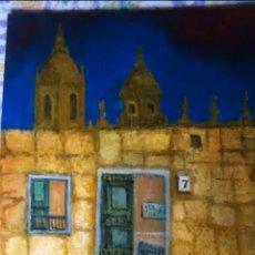 Arte: CUADRO ORIGINAL FIRMADO SALAMANCA 41X33. Lote 125986506