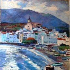 Art - Sebastián Llobet Ribas - Pueblo de Cadaqués - 125999396