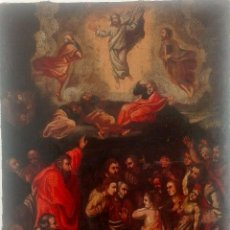 Arte: OLEO SOBRE TELA. TRANSFIGURACIÓN DE CRISTO. SIGLO XVII. GRAN DIMENSIÓN. Lote 126016027