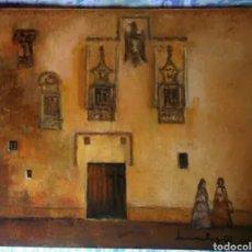 Arte: CUADRO ORIGINAL FIRMADO 41X33. Lote 126025035