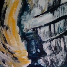 Arte: PINTURA SOBRE TELA ORIGINAL.FIRMADA. Lote 126061739