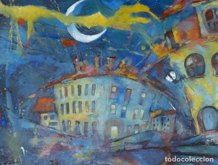 Arte: Dorota Zajac Óleo sobre tela: Calella de Palafrugell - Foto 2 - 126063799