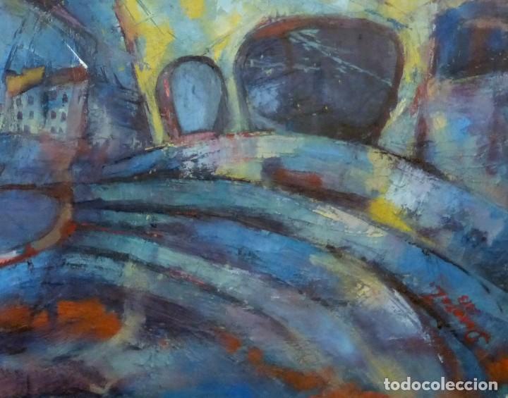 Arte: Dorota Zajac Óleo sobre tela: Calella de Palafrugell - Foto 4 - 126063799