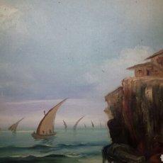 Arte: OLEO SOBRE LIENZO FIRMADO MARQUÉS.. Lote 126164160