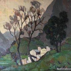 Arte: FERRÉ REVASCALL - ÓLEO SOBRE MADERA - FIRMADO. Lote 126176647