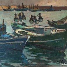 Arte: FERRÉ REVASCALL - ÓLEO SOBRE MADERA - FIRMADO. Lote 126176831
