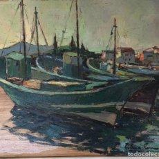 Arte: FERRÉ REVASCALL - ÓLEO SOBRE MADERA - FIRMADO. Lote 126177147