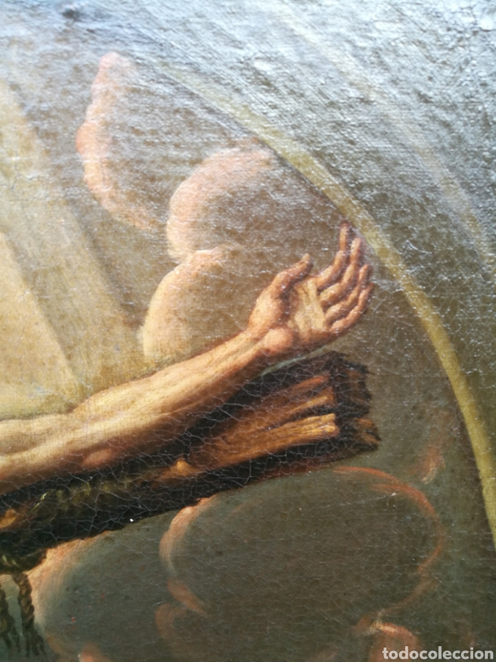 Arte: Cuadro san dimas siglo XVIII - Foto 3 - 126253618