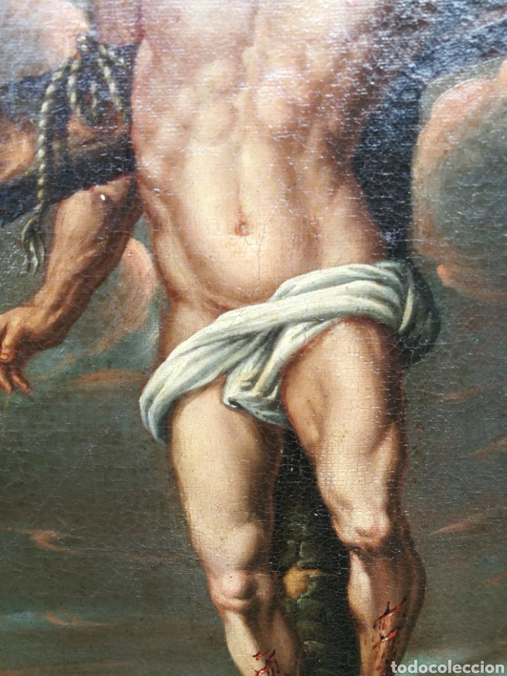 Arte: Cuadro san dimas siglo XVIII - Foto 5 - 126253618