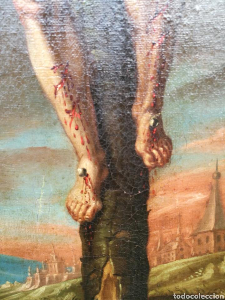Arte: Cuadro san dimas siglo XVIII - Foto 6 - 126253618