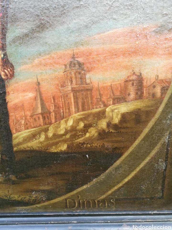 Arte: Cuadro san dimas siglo XVIII - Foto 7 - 126253618