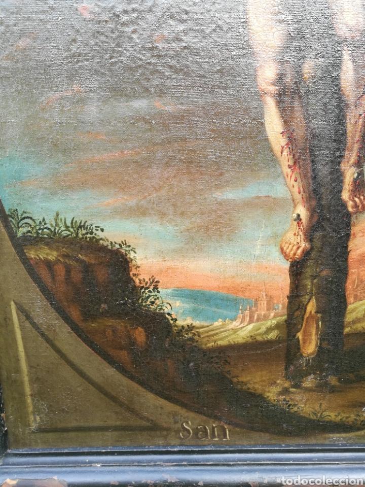 Arte: Cuadro san dimas siglo XVIII - Foto 8 - 126253618