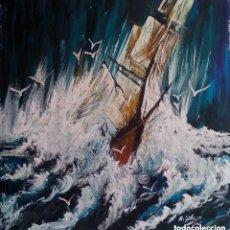 Arte: PINTURA SOBRE TELA ORIGINAL.FIRMADA. Lote 126302679