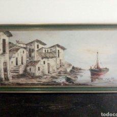 Arte: CUADRO AL OLEO. J. BELTRAN.. Lote 126355696