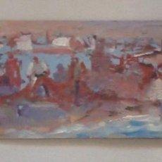 Arte: OLEO IMPRESIONISTA SOBRE TABLA, ANONIMO. Lote 126575899