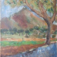 Arte: RABAT I JUNCADELLA.SIGLOXX.OLEO/TELA.FIRMADO.C.1950.IMPRESIONISMO.. Lote 126702920