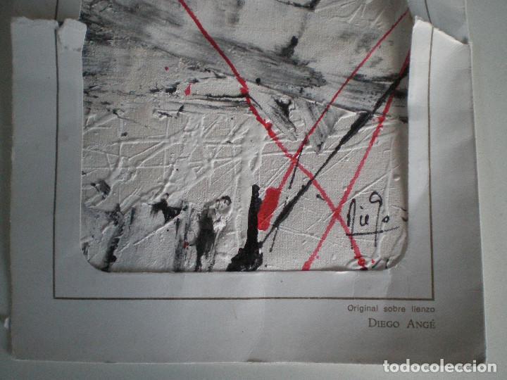 Arte: DIEGO ANGÉ 1887-1952 // PINTURA ORIGINAL // PINTOR GENERACION DEL 27 JUAN GRIS DALI LORCA BUÑUEL - Foto 4 - 126752035
