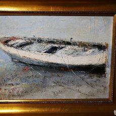 Arte: ÓLEO FRANCISCO MORENO ORTEGA, PINTOR MALAGUEÑO. Lote 126771924
