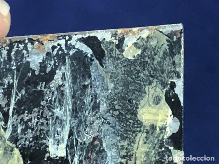Kunst: miniatura ferrotipo pintado joven con peinado flecha ave perlas estuche origen no firma calidad 8x7c - Foto 55 - 126805419
