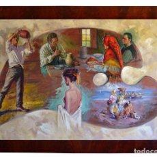 Arte: CUADRO OLEO DEL PINTOR JUAN SOLER. Lote 126809419