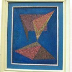 Arte: MADE WIANTA : IMPORTANTE ARTISTA INDONESIO NACIDO EN TABANAN , BALI 1949. OBRA 1982 T/MIXTA. Lote 126868131