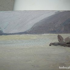 Arte: ÓLEO SOBRE TABLEX- ANÓNIMO- MARINA. Lote 127110183