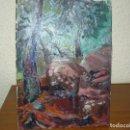 Arte: ÓLEO SOBRE TABLEX- ANÓNIMO- CARRETERA DE GAVÁ -BEGAS-1978. Lote 127115355