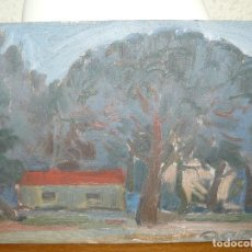 Arte: ÓLEO SOBRE TABLEX- ANÓNIMO- CASTELLDEFELS. Lote 127217975