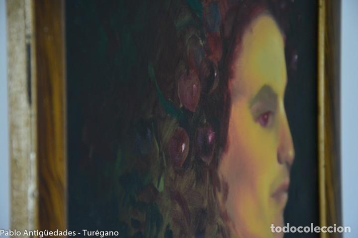Arte: Pintura al óleo retrato de mujer - Firma de de autor Torrego - Foto 7 - 127549683