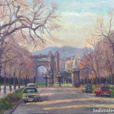 Arte: FRANCESC TORNERO (BARCELONA 1938) ÓLEO SOBRE TELA ENMARCADO ARC DE TRIOMF. Lote 127562971