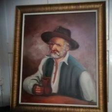Arte: ÓLEO DE MANUEL GONZÁLEZ Y SUS VICIOS. Lote 127835114