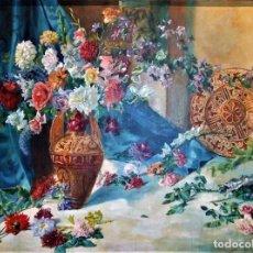 Arte: LIENZO DE 1941 AUTOR FRANCISCO CORTINA GARCÍA DE MORA - ILUSTRE PINTOR VALENCIANO 1879 - 1950. Lote 128071867