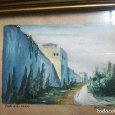 Arte: ANTIGUO ÓLEO SOBRE PAPEL DE CUESTA DE LOS CHINOS (GRANADA) FIRMADA JOS. M. ANTINOLO MIREN FOTOS . Lote 128117447