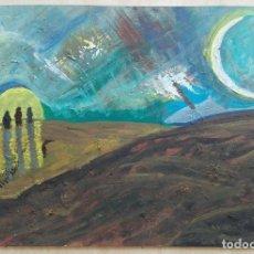 Arte: ANTONI MARTÍ (SEUDÓNIMO, CASSERRES 1.960) - ÓLEO 34,5 X 22,5 CERTIFICADO. Lote 128135843