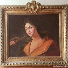 Arte: CUADRO ESCUELA FRANCESA SIGLO XVIII. LA RENOMMÉE.ÓLEO SOBRE LIENZO. Lote 104510711