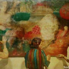 Arte: JOSE MÉNDEZ RUIZ ( MADRID 1936-MURCIA 1988) OPORTUNIDAD, EXTRAORDINARIA PINTURA DE MUSEO, AÑO 1976.. Lote 128305062