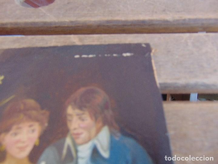Arte: BONITA TABLA PINTADA AL OLEO FIRMADA GONZALEZ MIDE 22.5 X 16 CM - Foto 2 - 128365551