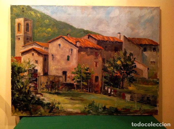 CUADRO ÓLEO DEL PINTOR EDUARDO MÓJEZ (Arte - Pintura - Pintura al Óleo Moderna siglo XIX)