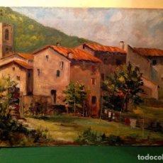 Arte: CUADRO ÓLEO DEL PINTOR EDUARDO MÓJEZ. Lote 128368439