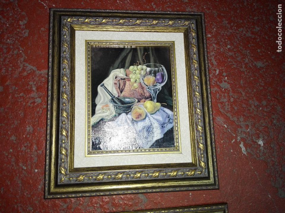 lote 2 cuadros-naturaleza muerta-m.garcía-marco - Comprar Pintura al ...