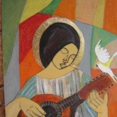 Arte: PINTURA PAN DE ORO. Lote 128639835