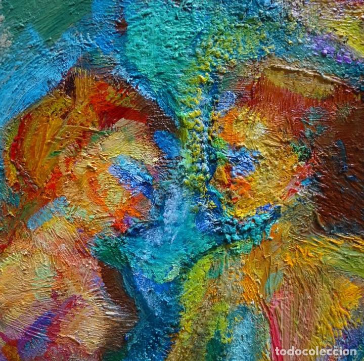 Arte: Gran óleo de Ramon Boter Sobre tela.Mucho colorido. - Foto 3 - 128676011