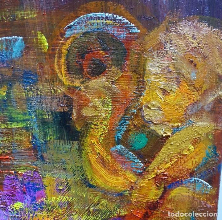 Arte: Gran óleo de Ramon Boter Sobre tela.Mucho colorido. - Foto 4 - 128676011