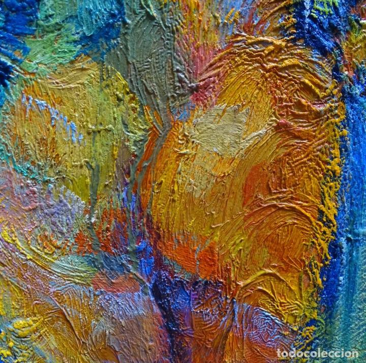 Arte: Gran óleo de Ramon Boter Sobre tela.Mucho colorido. - Foto 5 - 128676011