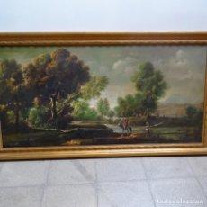 Arte: GRAN ÓLEO DE PACO TORO IGLESIAS(JEREZ DE LA FRONTERA).. Lote 128691203