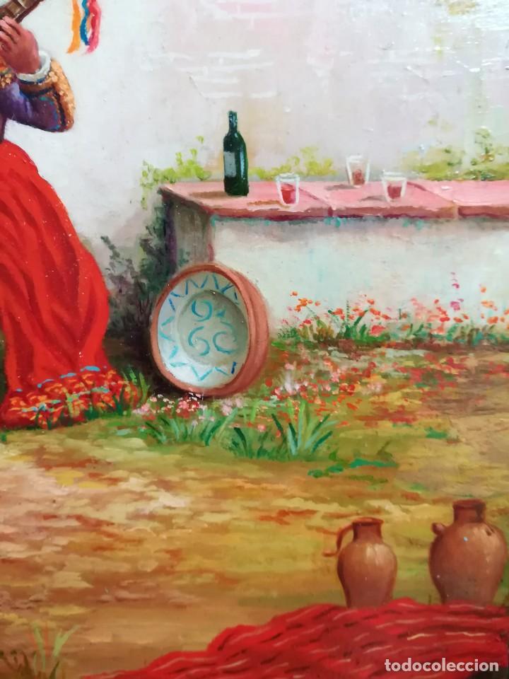 Arte: COSTUMBRISTA DE ARTISTA ANDALUZ - Foto 4 - 128751055