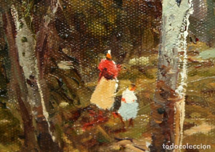 Arte: JOSEP COLOMER I COMAS (Sant Feliu de Pallerols. Girona 1935 - 2003) OLEO SOBRE TELA. PAISAJE - Foto 5 - 129004203