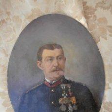 Arte: PINTURA AL OLEO DEL PINTOR AUGUSTO MANUEL DE QUESADA 1824-1891,FIRMADO TRASERA DEDICADO SEVILLA 1885. Lote 129029151