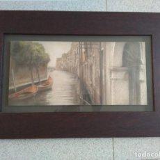 Arte: CANALE DELLA MISERICORDIZ VENEZIA. Lote 129075503