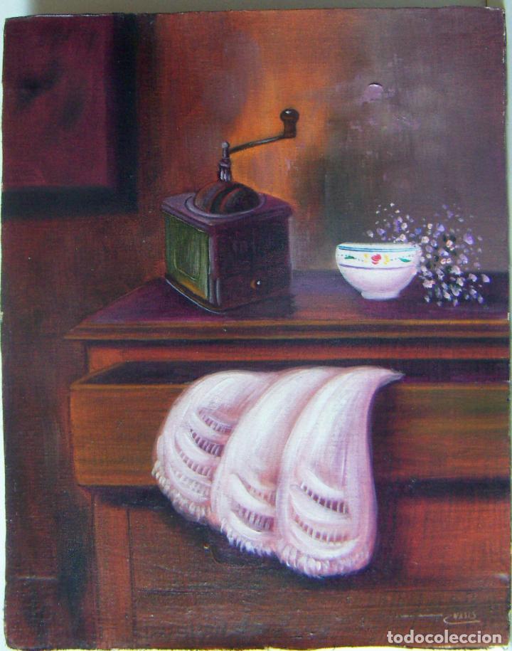 PINTURA AL OLEO FIRMADA VALLS (Arte - Pintura - Pintura al Óleo Contemporánea )
